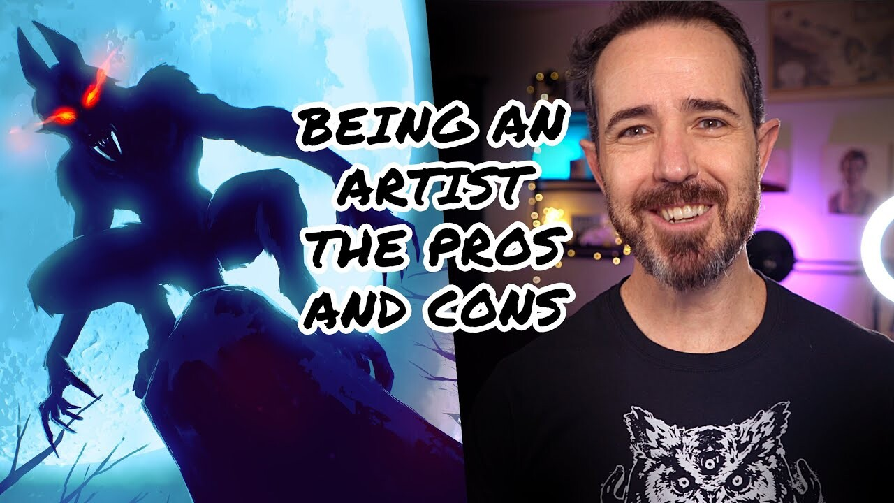 Thoughts on being an artist: the pros and cons according to me