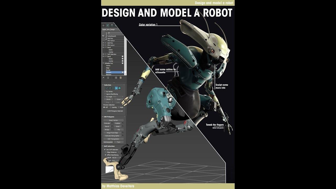Model&Design a mech