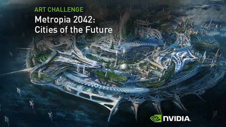 ArtStation - NVIDIA Metropia 2042 - Cities of the Future
