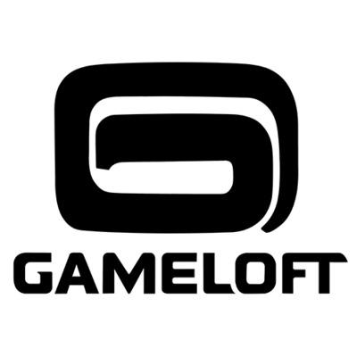 Gameloft logo black bottom