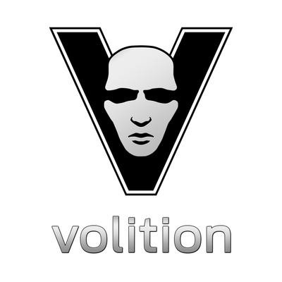 Volition logo shaded