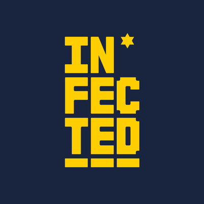 Infected logo yellow square v001