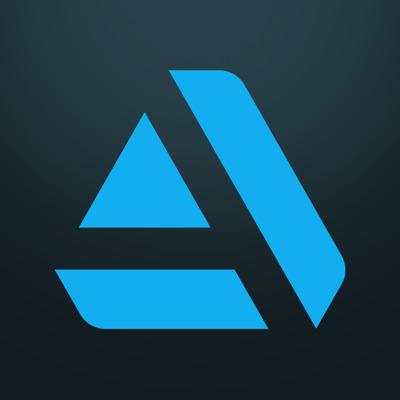 Artstation logo mobile gradient 512