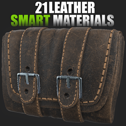 21 Leather Smart Materials (Substance Painter)