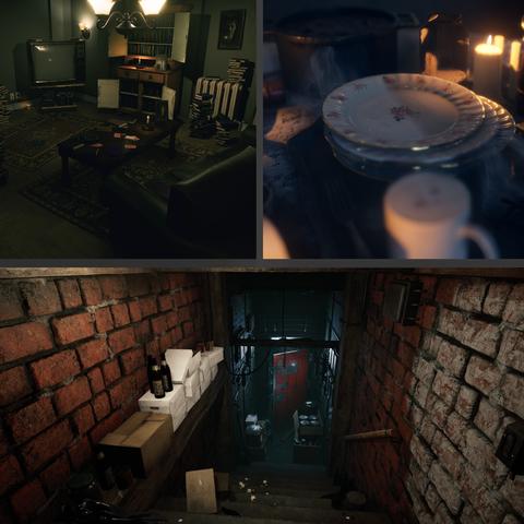 Horror Rooms Bundle - Vol.1 (UE4 Asset Pack)
