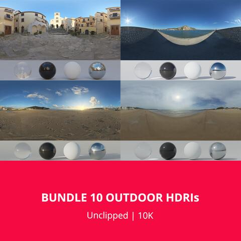 Bundle 10 Outdoor HDRIs