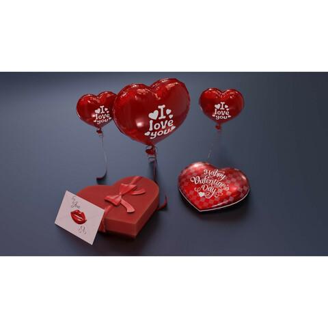 Valentines Day 3D Model Bundle