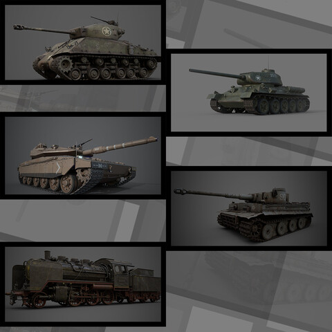 TANK -Military vehicle assembly