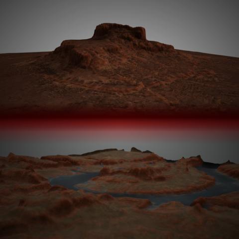 Red Canyons Landscapes Bundle