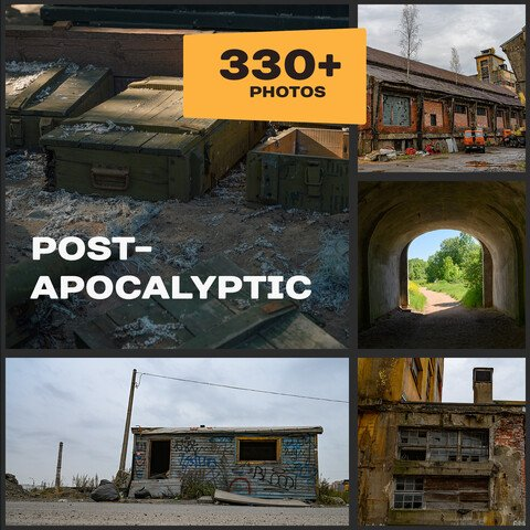 Post-Apocalyptic Environment (Extended Licence) 40%OFF