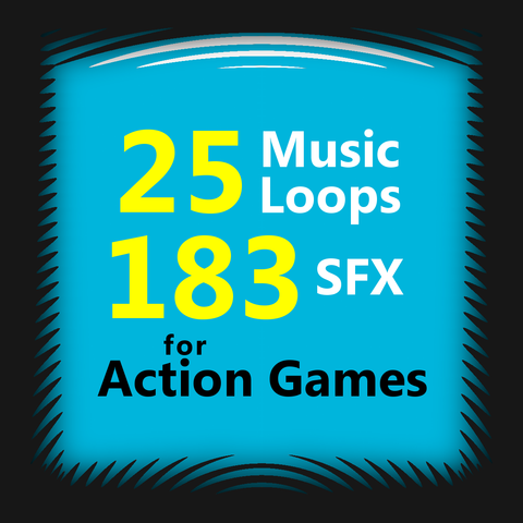 Music loops & SFX for games