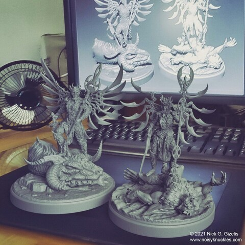 Slayers warlords miniatures pack