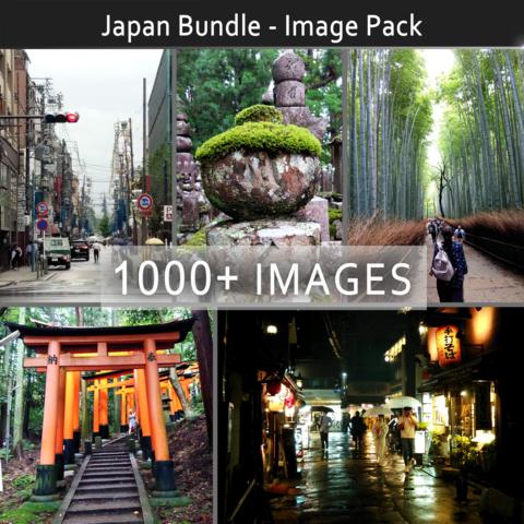 Japan Bundle - Image Reference Pack (1000+) - Standard Use License