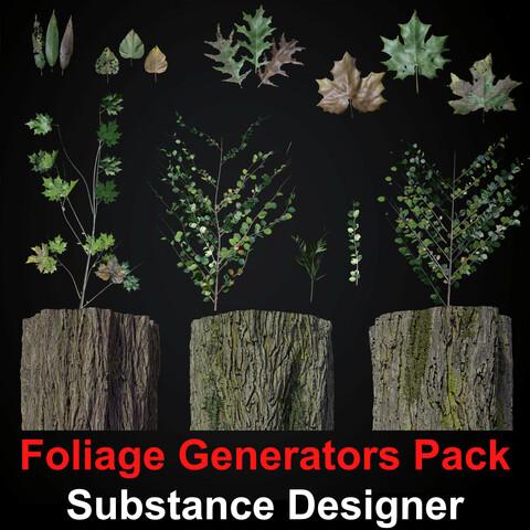 Vegetation Materias Pack - Substance Designer
