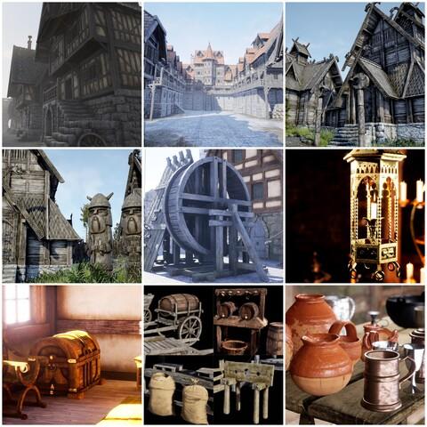 Medieval and Fantasy World Bundle