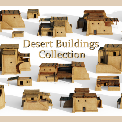 Desert Buildings Collection