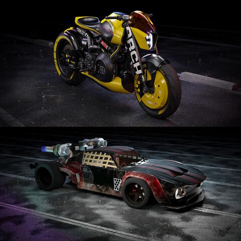 Cyberpunk Vehicles