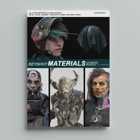 Keyshot Materials - Ultimate Bundle