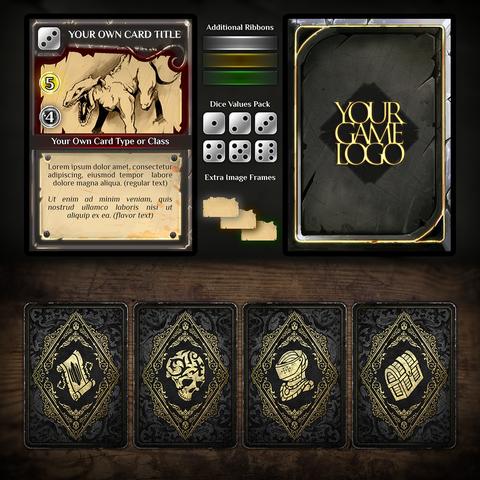 Dark Fantasy Card Game Bundle (Standard License)