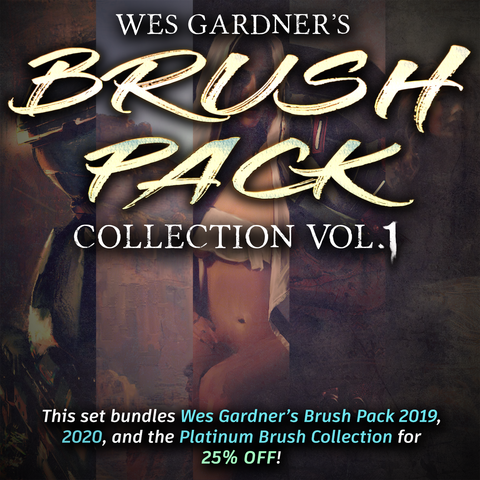 Wes Gardner's Brush Pack Collection Vol. 1