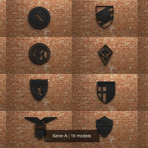 Lega Serie-A Logos Collection