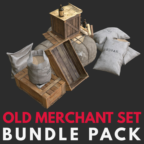 Old Merchant Sets Pack
