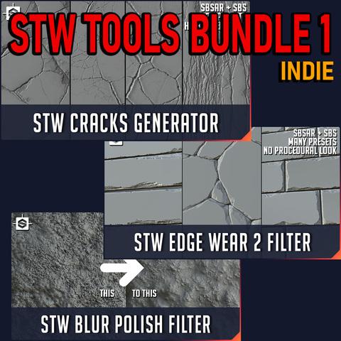 STW Substance Tools Bundle 1 - Indie License