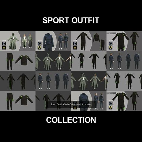 Sport Outfit Cloth Collection