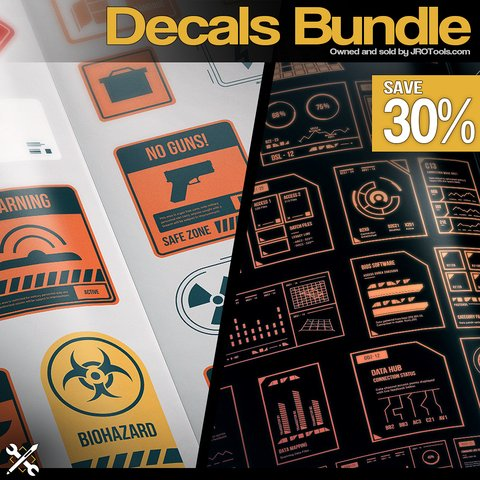 JROTools - Decals Bundle [Studio License]