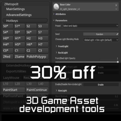 FoxSquad - 30% off 3D game asset development bundle