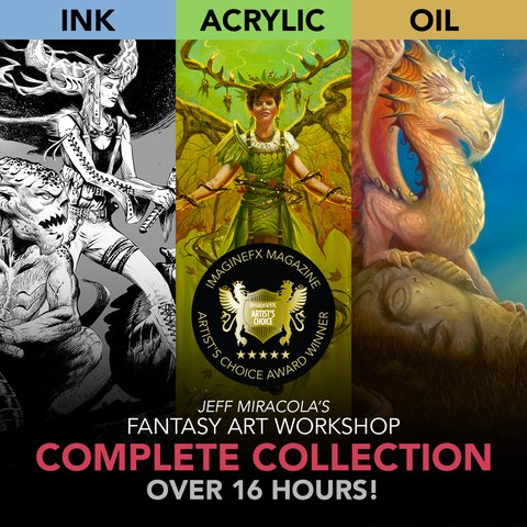 Jeff Miracola's Fantasy Art Workshop - Complete Collection