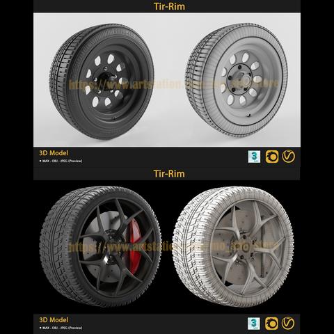 2 Tire-Rim bundle