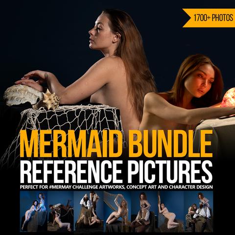 Mermaid Bundle Reference Pictures #Mermay