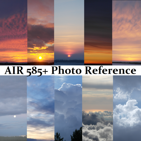 AIR BUNDLE 585+ Photo Reference Pictures Standard License