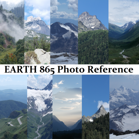 EARTH BUNDLE 865 Photo Reference Pictures Standard License