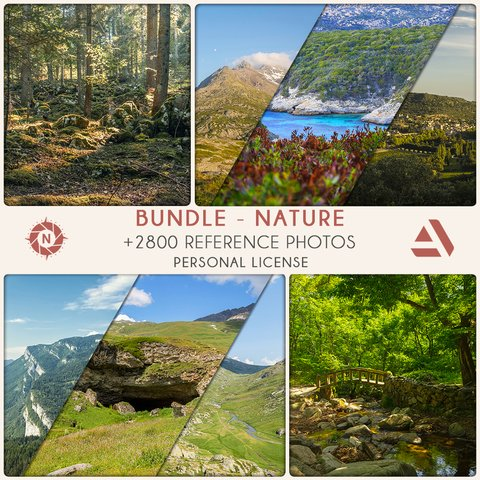 Bundle Reference Photos: Nature - Personal License