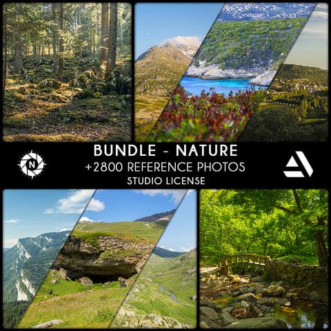 Bundle Reference Photos: Nature - Studio License