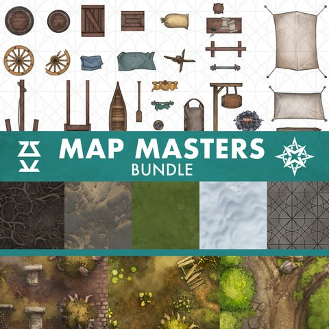 Map Masters Bundle - Extended License