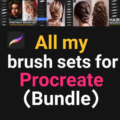 All my brush set for Procreate (Bundle) - Standard License