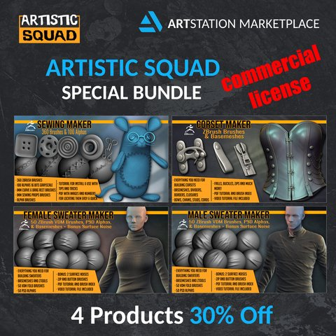 Clothing And Sewing Maker Bundle Commercial