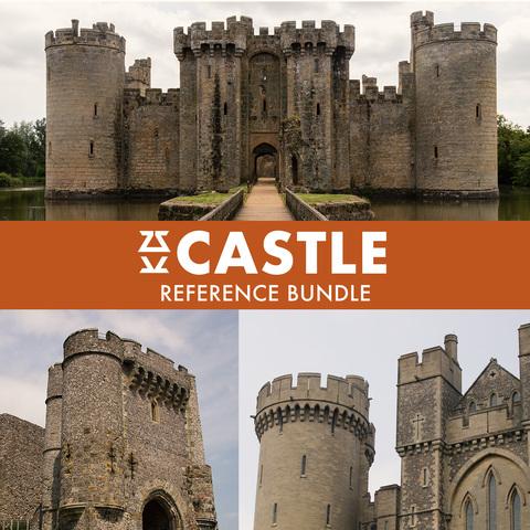 Castle Photo Reference Bundle - Standard License