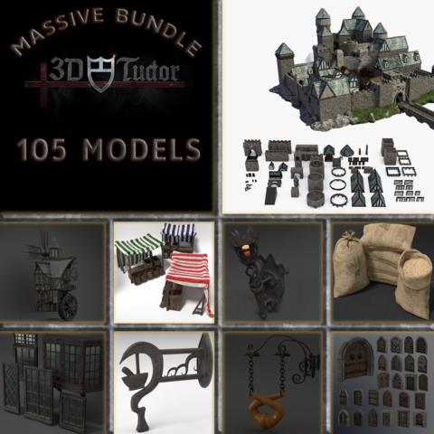 Medieval Model Pack VOL 1