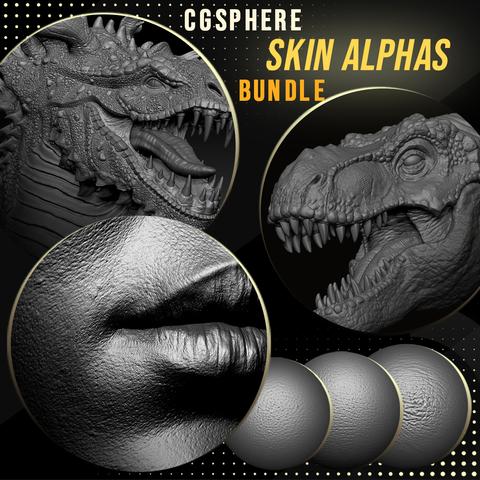 CGSphere Skin Alphas Bundle