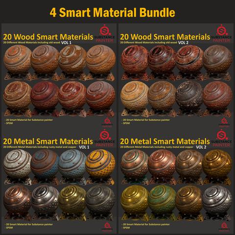 4 Smart Material Bundle