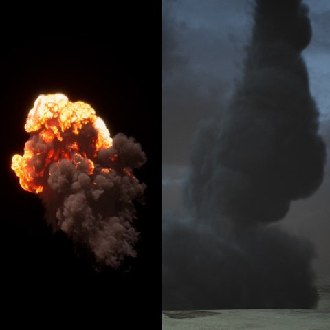 Cinematic Tornado And Explosion Pack
