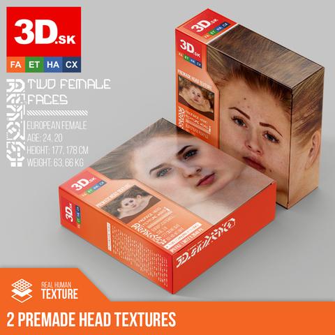 2 Premade Head Textures