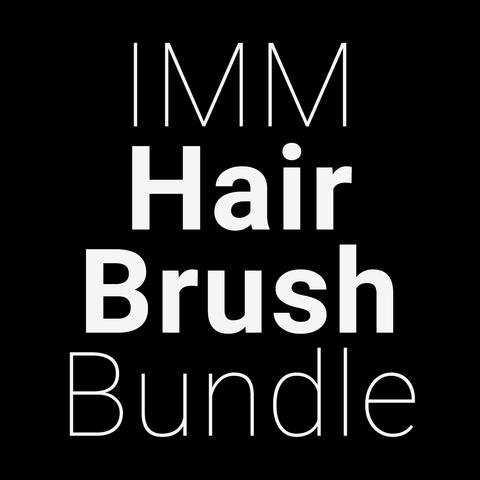 IMM Hair Brush Bundle, Pro