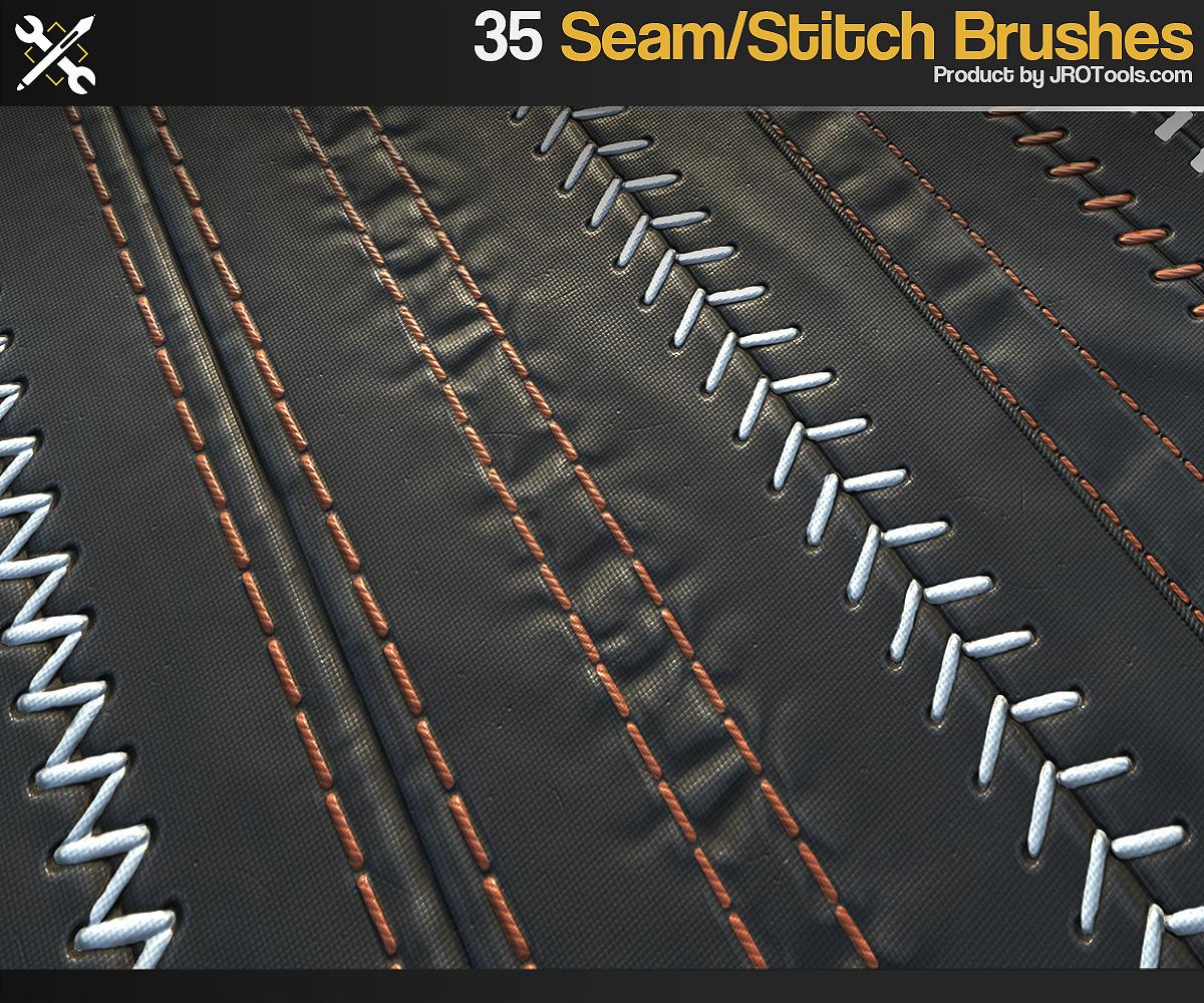 JROTools - Tools for 3D artists - ZBrush - 35 Seam/Stitch