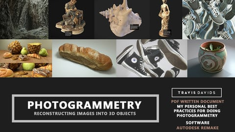 Photogrammetry - Reconstructing Images Into 3D Objects