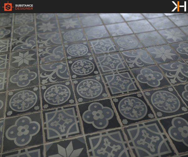Creating Ornate Tiles Material in Substance Designer